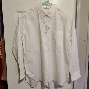 Brand-new Uniqlo off-white Boyfriend shirt